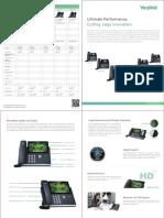 Yealink T4 Series Ultra-elegent IP Phone Brochure
