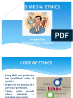 Journalist's Code of Ethics