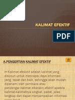 KALIMAT EFEKTIF
