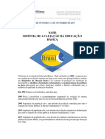 Informativo Prova Brasil SEDUC/MT