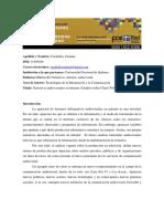 Caponencia_-_caraballo_cristianEstudios Sobre Clarín Web TV y Casa Rosada