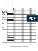 GCN Tracking Worksheet