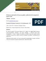 Cicilimbini__ana__ponenciaEl Discurso Informativo de La Prensa Gráfica