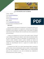 Cocordero Melano _spila Ponencia_2012USO POLÍTICO de FACEBOOK