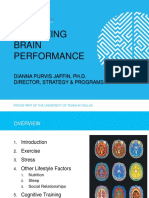 Optimizing Brain Performance