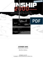 Gunship 2000 - Islands and Ice - Manual - PC