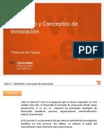 01 Tema 1-Definición y Conceptos de Innovación