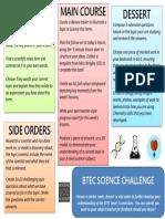 BTEC Science Challenge