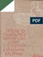 Studije o Kamenom i Bakarnom Dobu u Sjeverozapadnom Balkanu_Alojz Benac