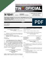 Boletín Oficial de Río Colorado N°0041