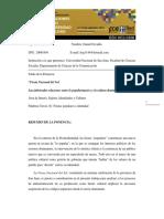 Gijornadasdeinvestigacion_danielgimenolo Popularmasivo y La Cultura Dominante