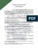 Contrado de Crediario - Patrícia Limeira Olegario