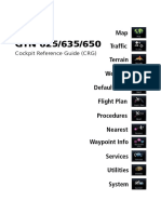 Cockpit Reference Guide G650