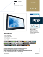 Specification Monitor Ad Notam Dfu 0550 845