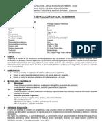 Patología Especial Veterinaria II - 2017