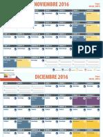 Calendario Nov Ago 2017