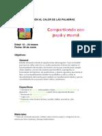 PLANEACIÓN AL CALOR DE LAS PALABRAS28dejunio
