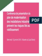 Conference Vieillissement