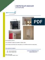 03- Kit d'Installation Répéteur Indoor 3 Antennes