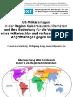 Folien einer beim Internationalen Kongress zu Militärbasen der Kampagne Stopp Air Base Ramstein am 08.09.17 gezeigten Bildschirmpräsentation