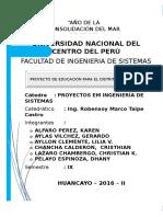 Proyecto de Educación Metodologia de Sistemas