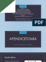 Apendicetomia