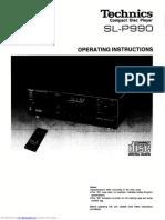 Technics slp990