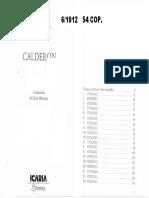 Pasolini - Calderon