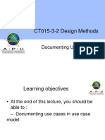 7_Documenting Use Case