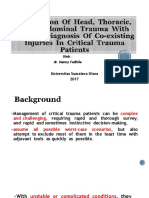 Association of Head Thoracic and Abdominal Trauma With