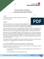 Borrador de Protocolo Atencion Trabajadores Especial Sensibilidad TES v.0