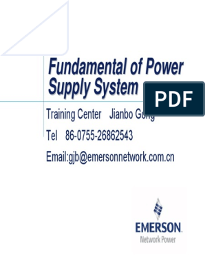 02 Fundmentals of Rectifiers Power System | Rectifier