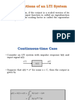 Eigenfunctions of LTI System
