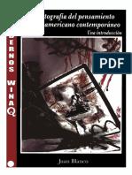 Blanco Juan - Cartografia Del Pensamiento Latinoamericano Contemporaneo