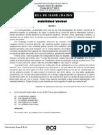 Solucionario Del Simulacro y Examen de Admisión 2016-II