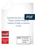 Negotiating D Risk