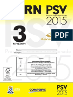 Prova CADERNO3PSV2015 Portugues