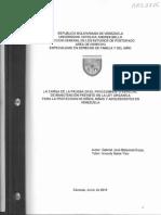 Carga d La Prueba en El Procedimiento Esp Manutención...
