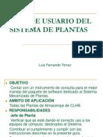 Sistema de Plantas Guía de Usuario