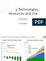 Unit 2 - Energy Technologies Resources and Use