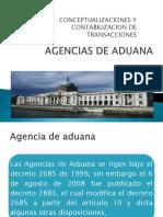 Agencias de Aduana