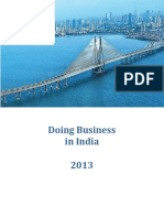 Doing Business in India 2013