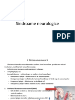 1. Sindroame neurologice