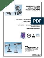 Morsetería y Herrajes Convencional y Preensamblado MT y BT