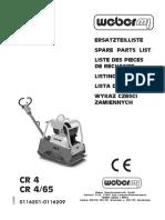 Cr4 Catalogo de Partes