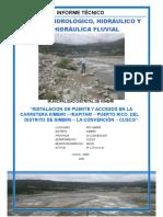 Hidrologia Kimbiri Abril 2016