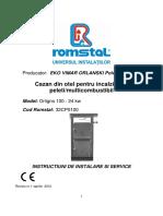 ORLIGNO100 24kw Instalare,Functionare,Intretinere