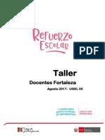 1.Dossier_i Taller Docentes Fortaleza
