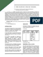 Paper Salida de Campo a Yarabamba (Metalurgica)