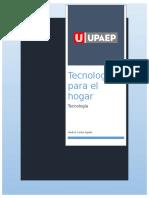Tecnología Para El Hogar_cindy